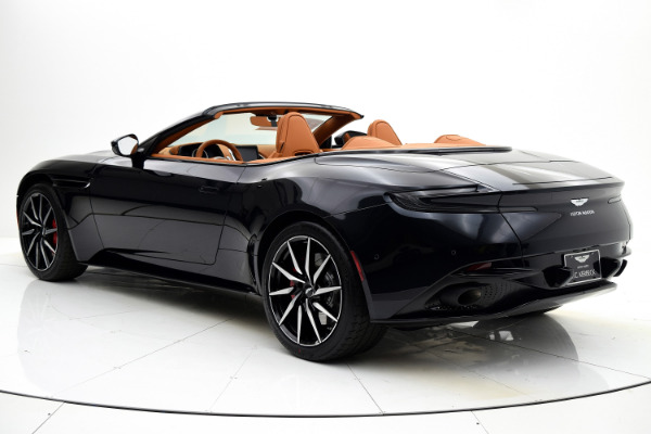 New 2019 Aston Martin DB11 Volante for sale $248,828 at F.C. Kerbeck Aston Martin in Palmyra NJ 08065 4