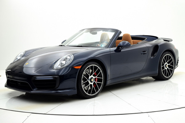 Used 2019 Porsche 911 Turbo Cabriolet for sale Sold at F.C. Kerbeck Aston Martin in Palmyra NJ 08065 2