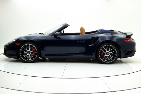 Used 2019 Porsche 911 Turbo Cabriolet for sale Sold at F.C. Kerbeck Aston Martin in Palmyra NJ 08065 3