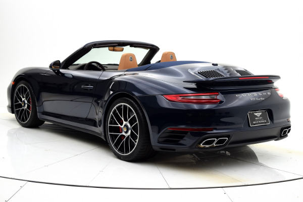 Used 2019 Porsche 911 Turbo Cabriolet for sale Sold at F.C. Kerbeck Aston Martin in Palmyra NJ 08065 4