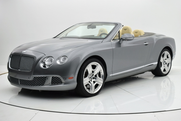 Used Used 2012 Bentley Continental GT W12 Convertible for sale $99,880 at F.C. Kerbeck Aston Martin in Palmyra NJ