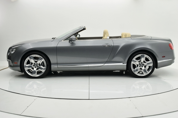 Used 2012 Bentley Continental GT W12 Convertible for sale $89,880 at F.C. Kerbeck Aston Martin in Palmyra NJ 08065 3