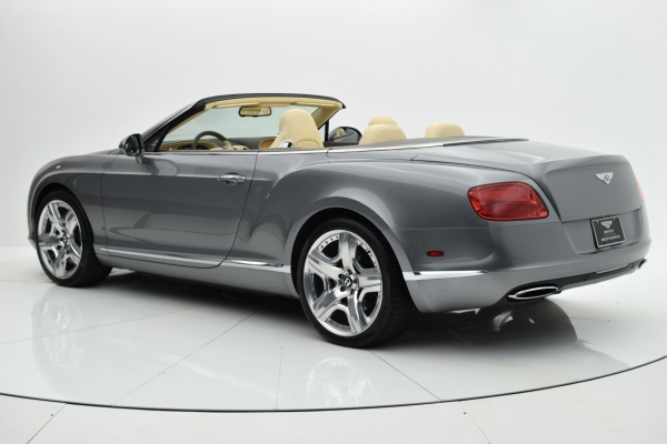 Used 2012 Bentley Continental GT W12 Convertible for sale $94,880 at F.C. Kerbeck Aston Martin in Palmyra NJ 08065 4