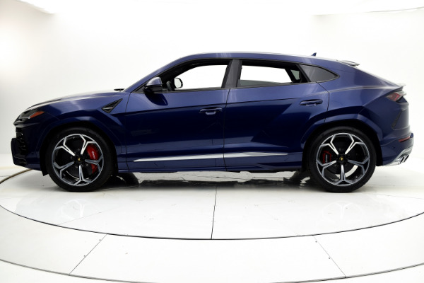 Used 2019 Lamborghini Urus BASE for sale Call for price at F.C. Kerbeck Aston Martin in Palmyra NJ 08065 3