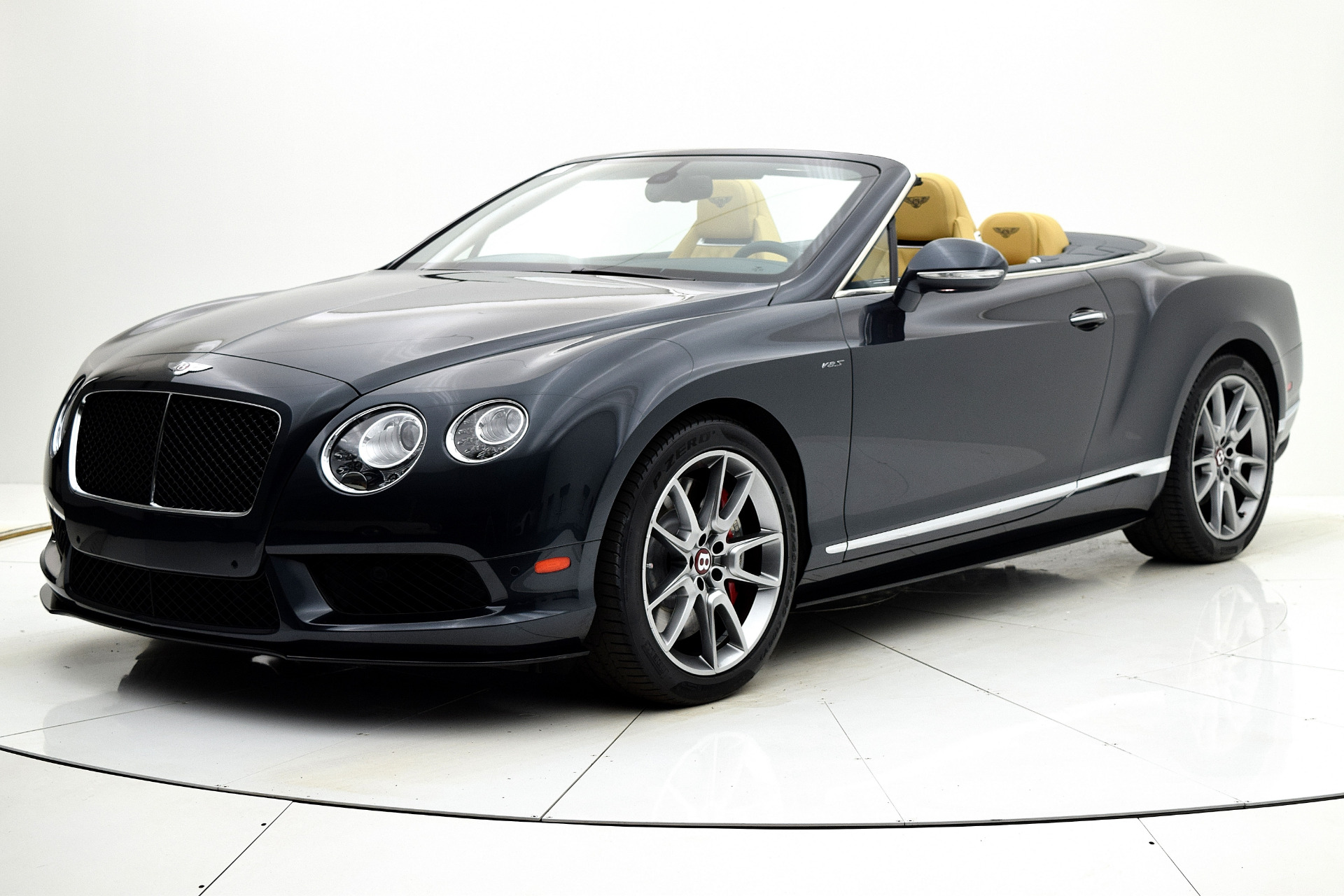 Used 2015 Bentley Continental GT V8 S Convertible for sale Sold at F.C. Kerbeck Aston Martin in Palmyra NJ 08065 2