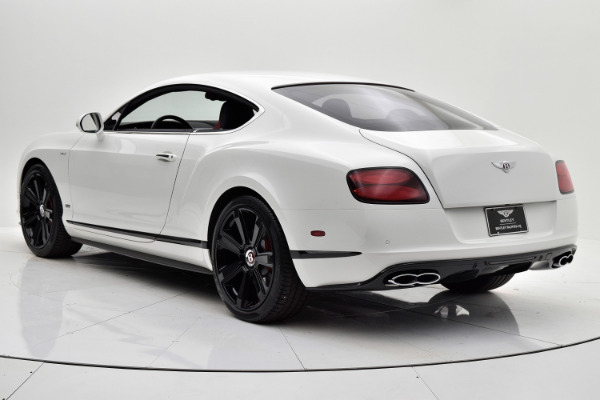 Used 2015 Bentley Continental GT V8 S for sale $139,880 at F.C. Kerbeck Aston Martin in Palmyra NJ 08065 4