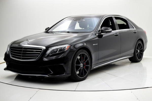 Used 2015 Mercedes-Benz S-Class S 63 AMG for sale Sold at F.C. Kerbeck Aston Martin in Palmyra NJ 08065 2