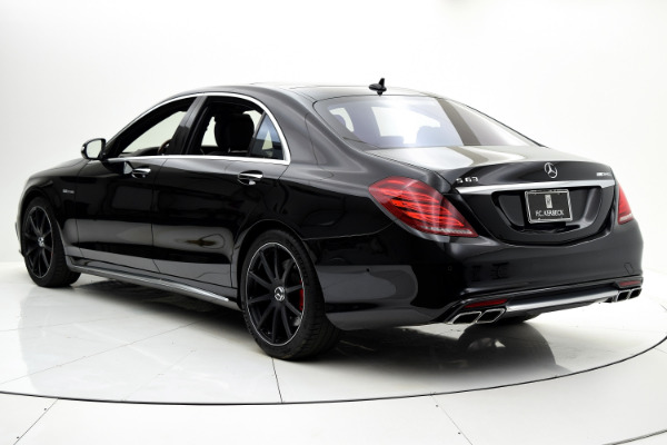 Used 2015 Mercedes-Benz S-Class S 63 AMG for sale Sold at F.C. Kerbeck Aston Martin in Palmyra NJ 08065 4