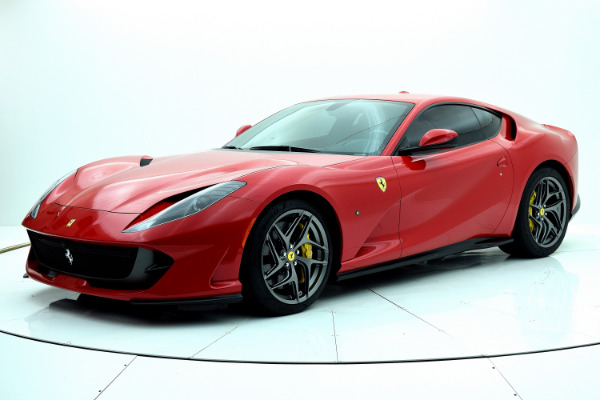 Used 2019 Ferrari 812 Superfast for sale Sold at F.C. Kerbeck Aston Martin in Palmyra NJ 08065 2