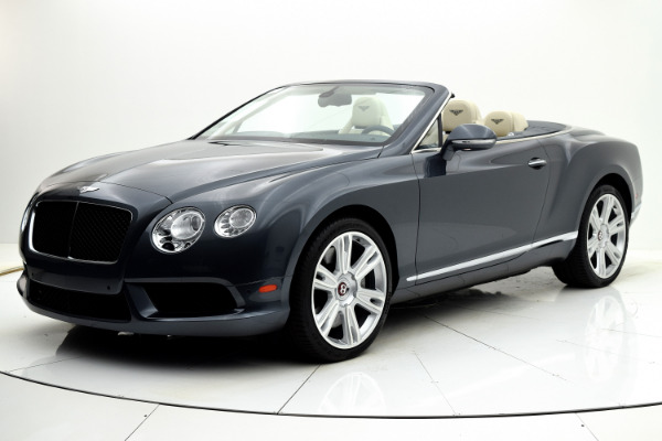 Used Used 2013 Bentley Continental GT V8 Convertible for sale $105,880 at F.C. Kerbeck Aston Martin in Palmyra NJ