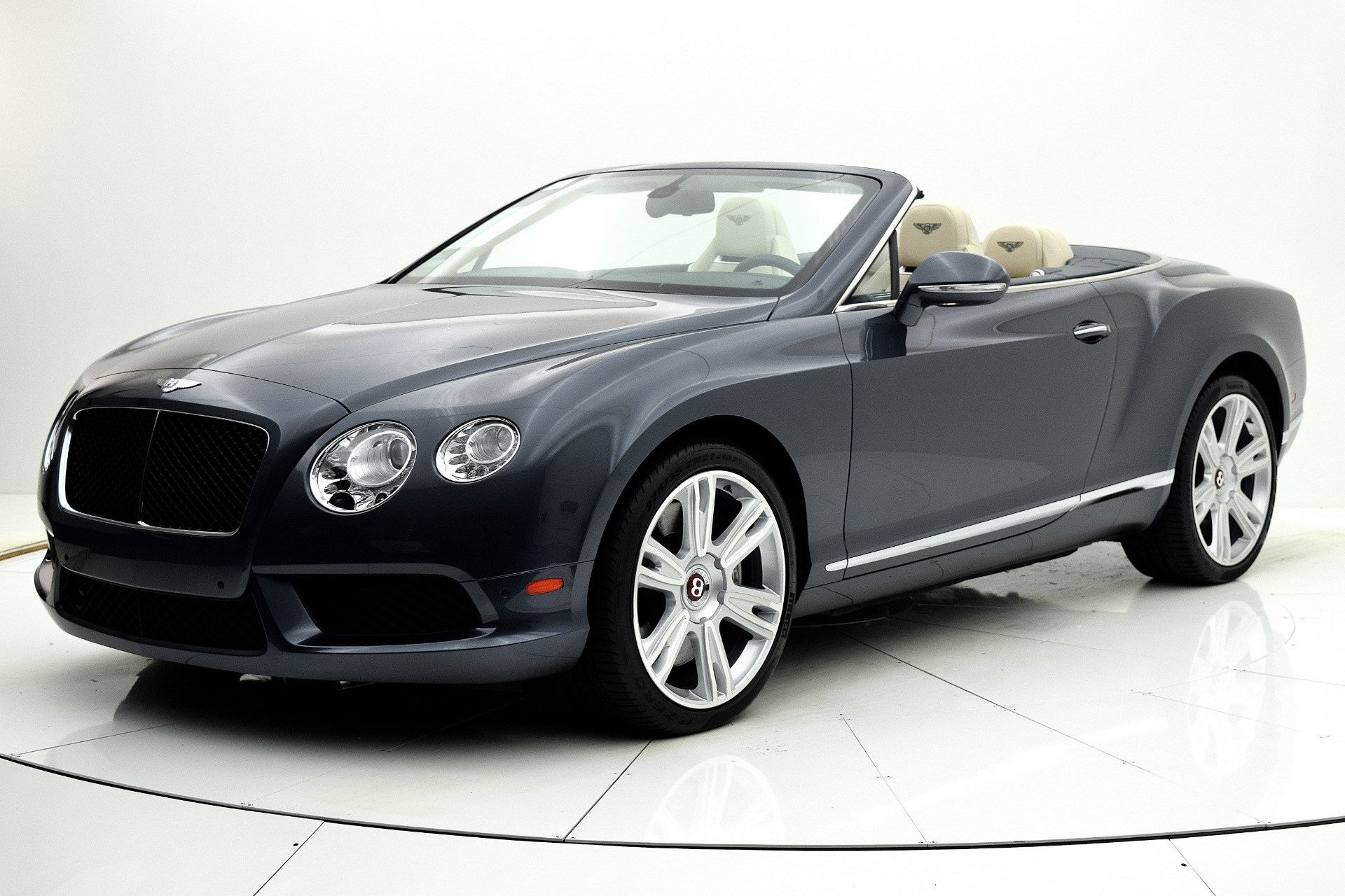 Used 2013 Bentley Continental GT V8 Convertible for sale Sold at F.C. Kerbeck Aston Martin in Palmyra NJ 08065 2