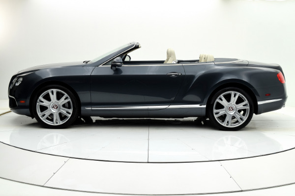 Used 2013 Bentley Continental GT V8 Convertible for sale Sold at F.C. Kerbeck Aston Martin in Palmyra NJ 08065 3