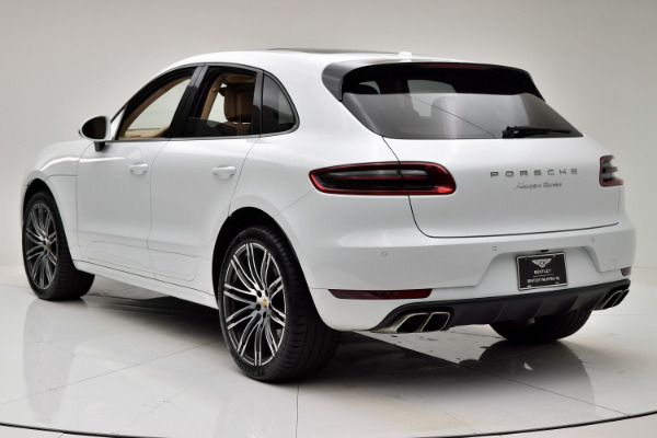 Used 2015 Porsche Macan Turbo for sale $48,880 at F.C. Kerbeck Aston Martin in Palmyra NJ 08065 4