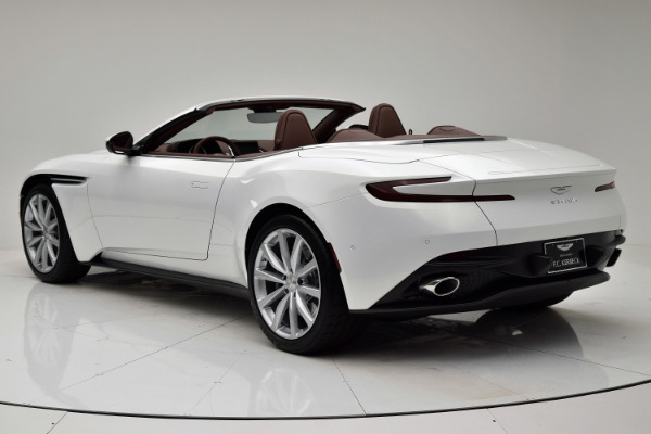 New 2020 Aston Martin DB11 Volante for sale $254,161 at F.C. Kerbeck Aston Martin in Palmyra NJ 08065 4
