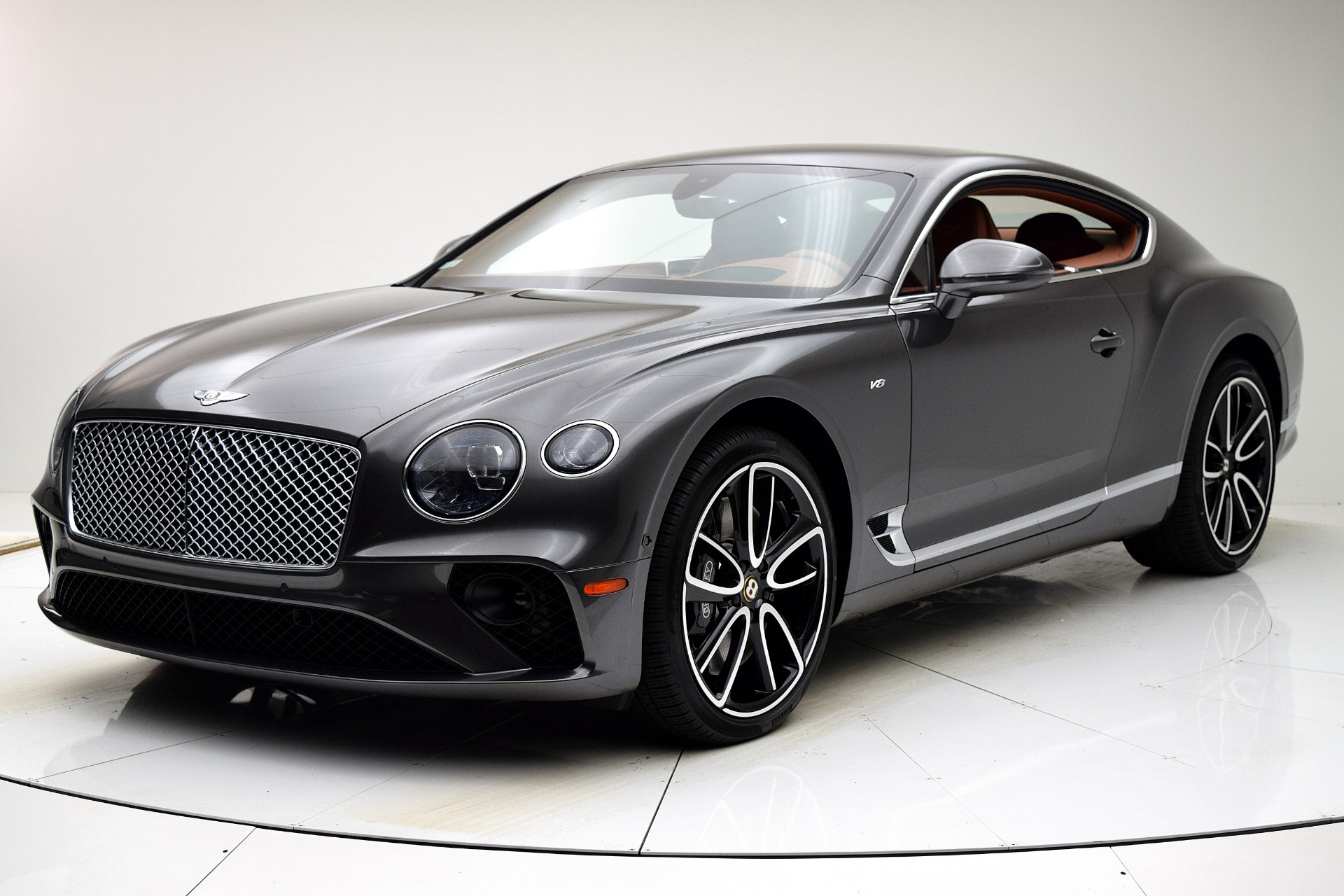 New 2020 Bentley Continental GT V8 Coupe for sale $243,010 at F.C. Kerbeck Aston Martin in Palmyra NJ 08065 2