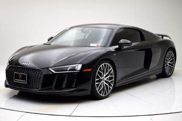 Used 2017 Audi R8 Coupe V10 plus for sale $135,880 at F.C. Kerbeck Aston Martin in Palmyra NJ 08065 2