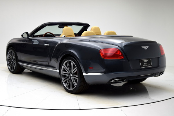 Used 2013 Bentley Continental GT W12 Convertible for sale $99,880 at F.C. Kerbeck Aston Martin in Palmyra NJ 08065 4