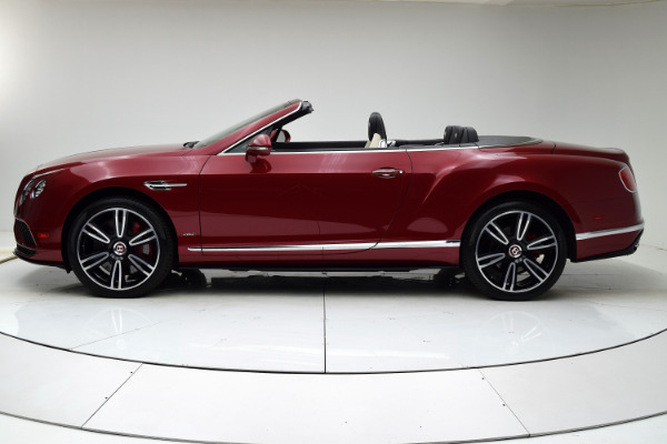Used 2016 Bentley Continental GT V8 S Convertible for sale $142,880 at F.C. Kerbeck Aston Martin in Palmyra NJ 08065 3