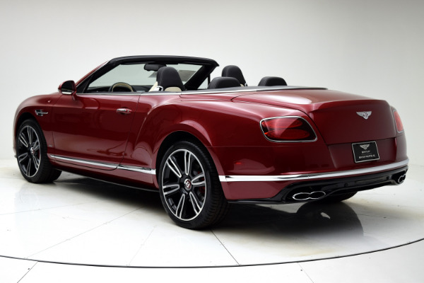 Used 2016 Bentley Continental GT V8 S Convertible for sale $145,880 at F.C. Kerbeck Aston Martin in Palmyra NJ 08065 4