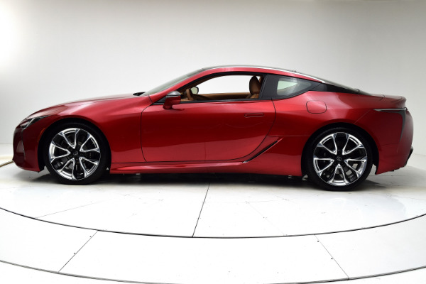 Used 2018 Lexus LC LC 500 for sale Sold at F.C. Kerbeck Aston Martin in Palmyra NJ 08065 3