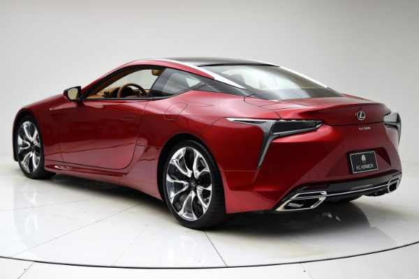 Used 2018 Lexus LC LC 500 for sale Sold at F.C. Kerbeck Aston Martin in Palmyra NJ 08065 4