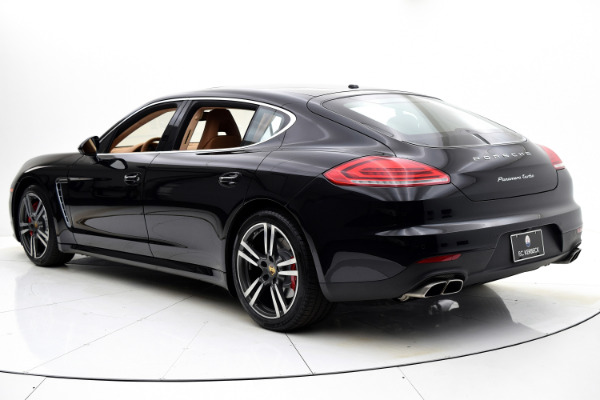 Used 2014 Porsche Panamera Turbo Executive for sale $69,880 at F.C. Kerbeck Aston Martin in Palmyra NJ 08065 4
