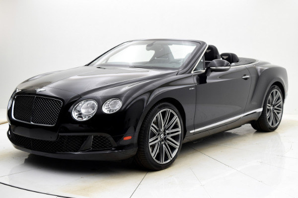Used 2014 Bentley Continental GT Speed Convertible for sale $109,880 at F.C. Kerbeck Aston Martin in Palmyra NJ 08065 2