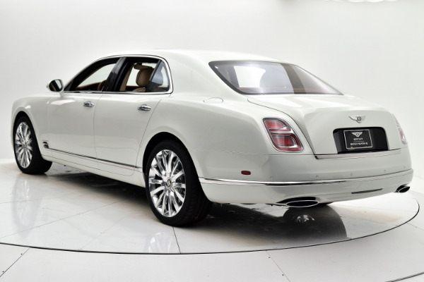 New 2020 Bentley Mulsanne for sale $371,245 at F.C. Kerbeck Aston Martin in Palmyra NJ 08065 4