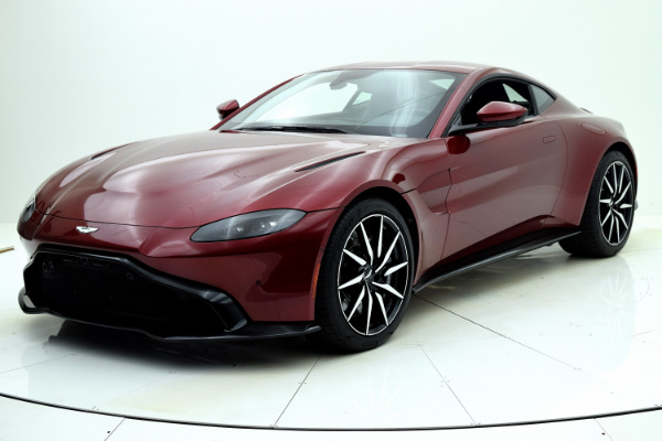 New New 2020 Aston Martin Vantage Coupe for sale $186,814 at F.C. Kerbeck Aston Martin in Palmyra NJ
