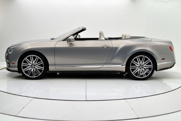 Used 2014 Bentley Continental GT Speed Convertible for sale Sold at F.C. Kerbeck Aston Martin in Palmyra NJ 08065 3