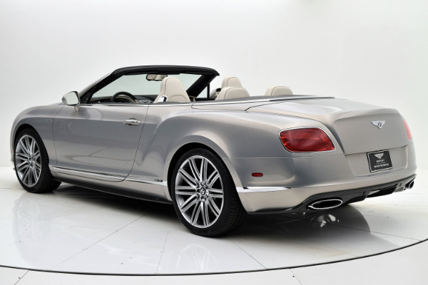 Used 2014 Bentley Continental GT Speed Convertible for sale Sold at F.C. Kerbeck Aston Martin in Palmyra NJ 08065 4