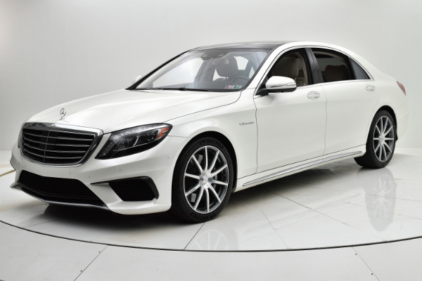 Used 2014 Mercedes-Benz S-Class S 63 AMG for sale Sold at F.C. Kerbeck Aston Martin in Palmyra NJ 08065 2
