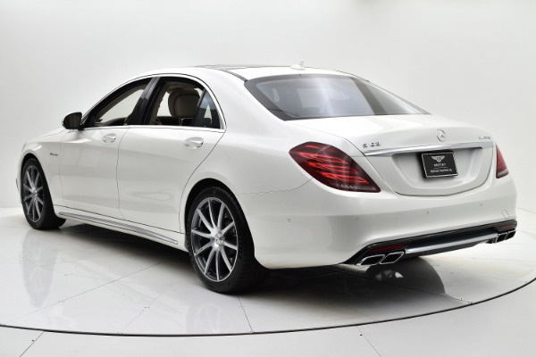 Used 2014 Mercedes-Benz S-Class S 63 AMG for sale Sold at F.C. Kerbeck Aston Martin in Palmyra NJ 08065 4