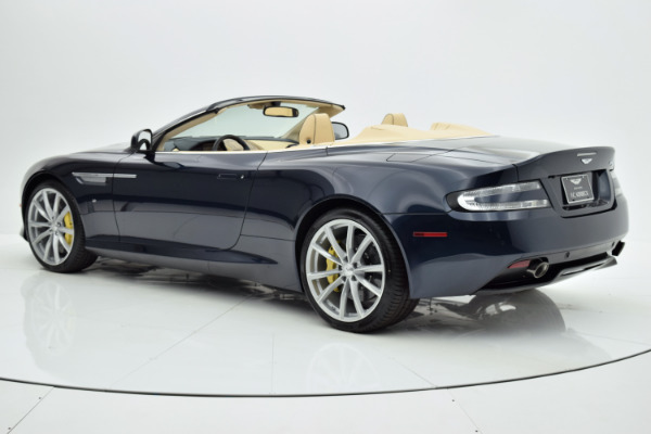 Used 2016 Aston Martin DB9 Volante for sale Call for price at F.C. Kerbeck Aston Martin in Palmyra NJ 08065 4