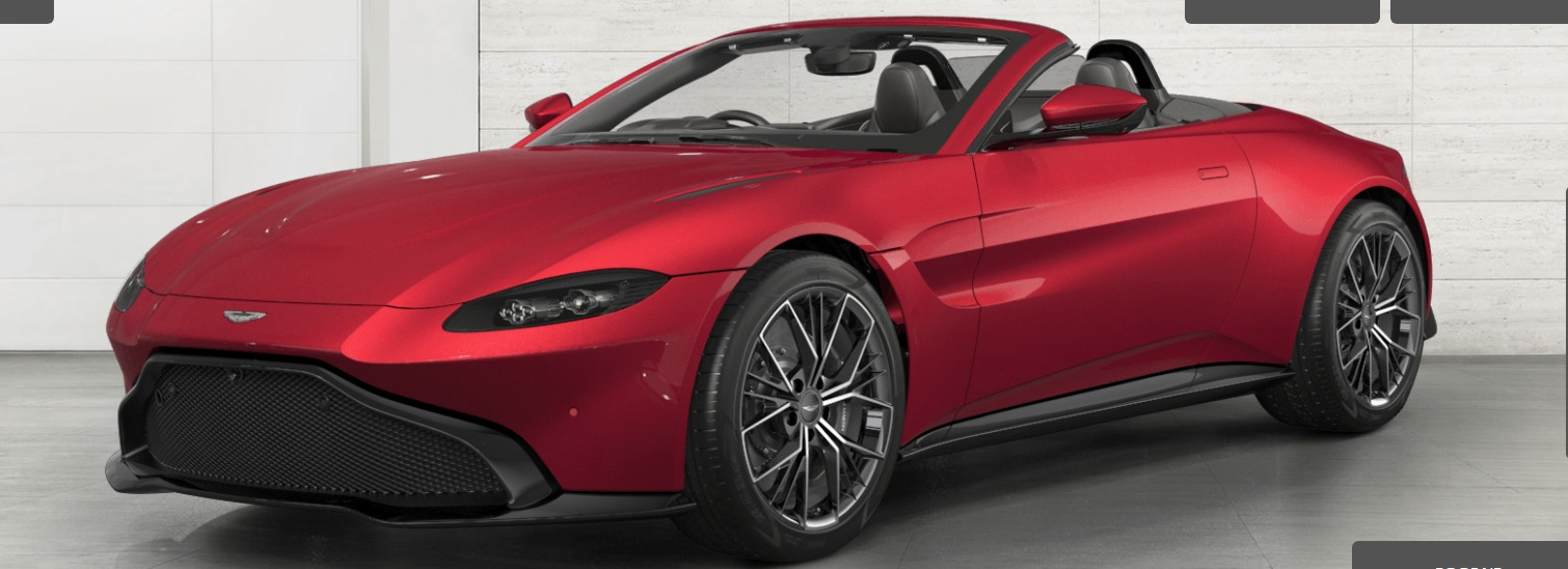 New 2021 Aston Martin Vantage Roadster for sale $172,400 at F.C. Kerbeck Aston Martin in Palmyra NJ 08065 2