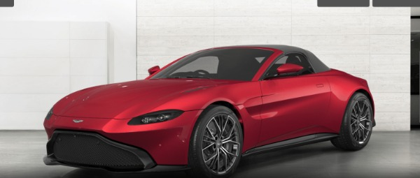 New 2021 Aston Martin Vantage Roadster for sale $172,400 at F.C. Kerbeck Aston Martin in Palmyra NJ 08065 4