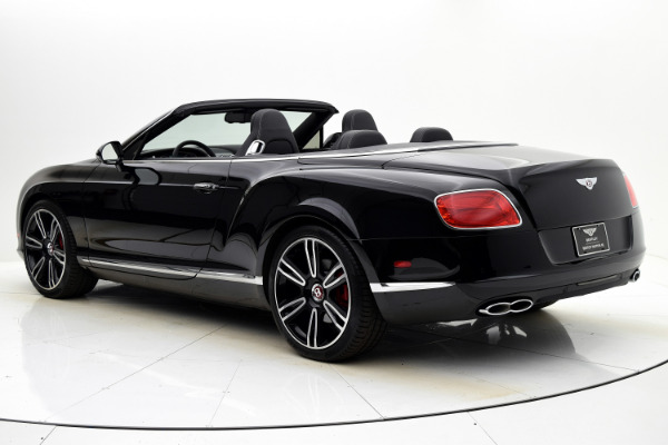 Used 2014 Bentley Continental GT V8 Convertible for sale Sold at F.C. Kerbeck Aston Martin in Palmyra NJ 08065 4