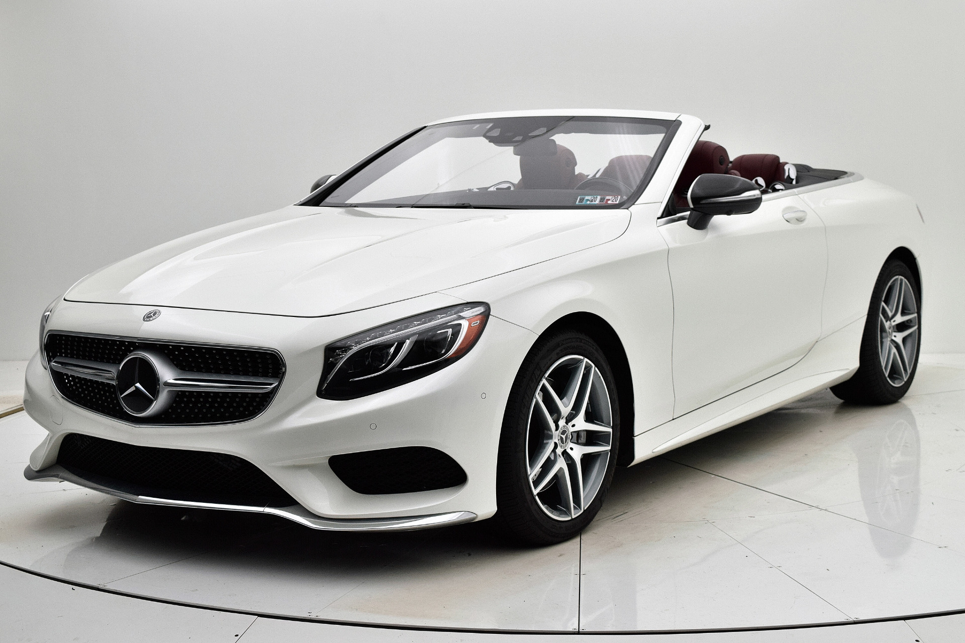 Used 2017 Mercedes-Benz S-Class S 550 Cabriolet for sale Sold at F.C. Kerbeck Aston Martin in Palmyra NJ 08065 2