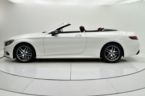 Used 2017 Mercedes-Benz S-Class S 550 Cabriolet for sale Sold at F.C. Kerbeck Aston Martin in Palmyra NJ 08065 3