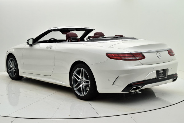 Used 2017 Mercedes-Benz S-Class S 550 Cabriolet for sale Sold at F.C. Kerbeck Aston Martin in Palmyra NJ 08065 4