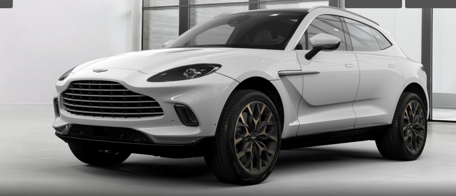New 2021 Aston Martin DBX for sale $202,886 at F.C. Kerbeck Aston Martin in Palmyra NJ 08065 2
