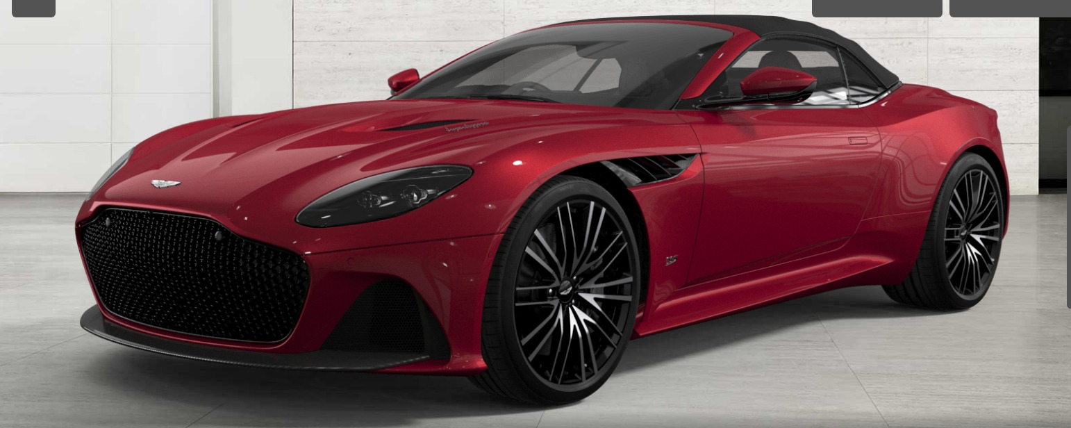 New 2021 Aston Martin DBS Superleggera Volante for sale $355,500 at F.C. Kerbeck Aston Martin in Palmyra NJ 08065 2