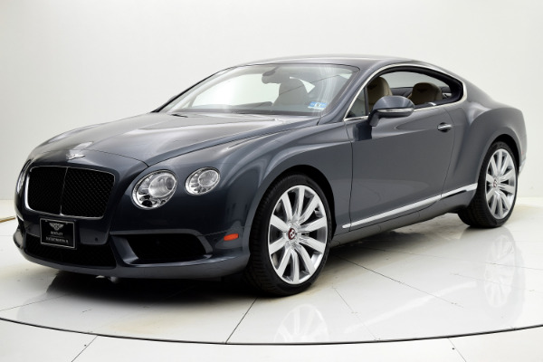 Used 2013 Bentley Continental GT V8 Coupe for sale Sold at F.C. Kerbeck Aston Martin in Palmyra NJ 08065 2