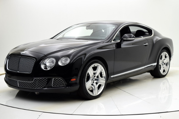 Used 2012 Bentley Continental GT W12 Coupe for sale Sold at F.C. Kerbeck Aston Martin in Palmyra NJ 08065 2