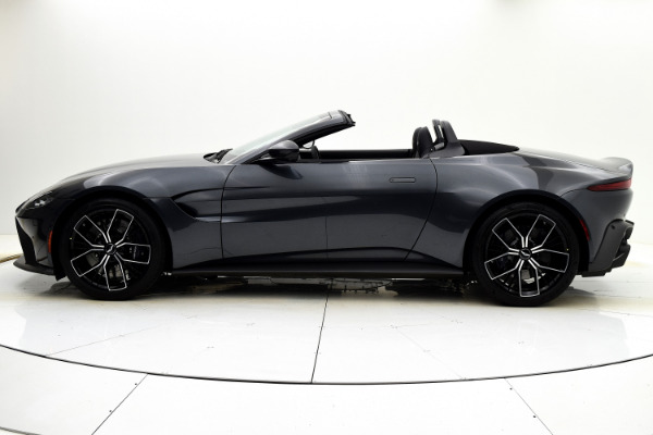 New 2021 Aston Martin Vantage Roadster for sale $164,786 at F.C. Kerbeck Aston Martin in Palmyra NJ 08065 3
