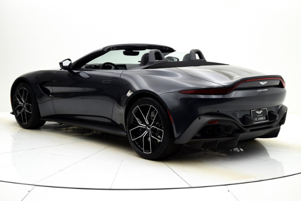 New 2021 Aston Martin Vantage Roadster for sale $164,786 at F.C. Kerbeck Aston Martin in Palmyra NJ 08065 4