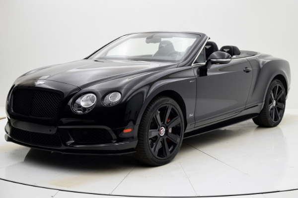 Used 2015 Bentley Continental GT V8 S Convertible for sale $133,880 at F.C. Kerbeck Aston Martin in Palmyra NJ 08065 2