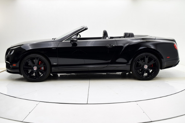 Used 2015 Bentley Continental GT V8 S Convertible for sale $133,880 at F.C. Kerbeck Aston Martin in Palmyra NJ 08065 3