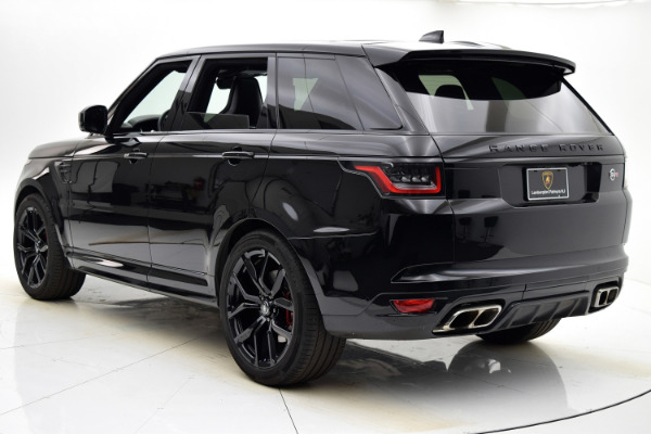 Used 2018 Land Rover Range Rover Sport SVR for sale $99,880 at F.C. Kerbeck Aston Martin in Palmyra NJ 08065 4