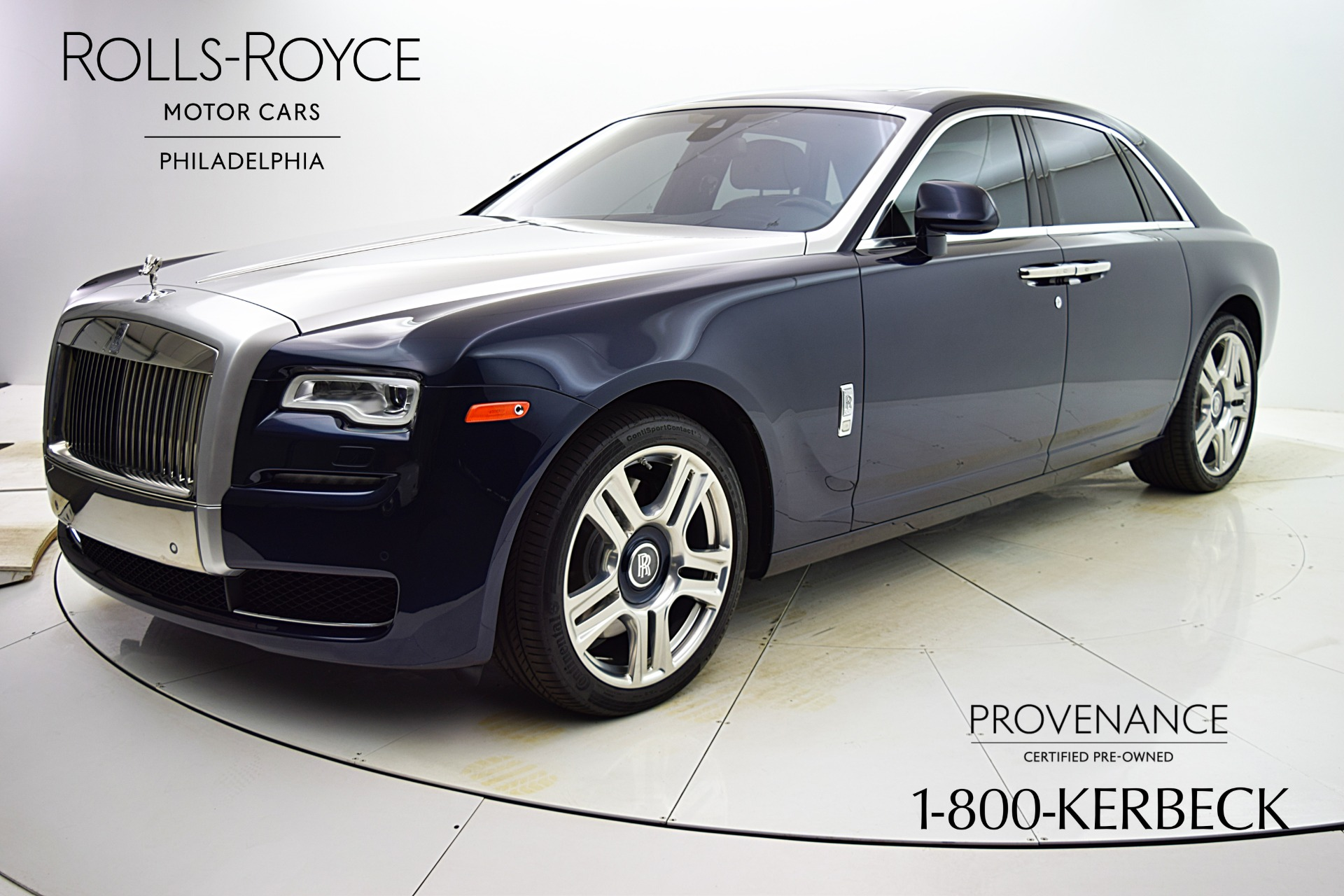 Used 2016 Rolls-Royce Ghost for sale Sold at F.C. Kerbeck Aston Martin in Palmyra NJ 08065 2